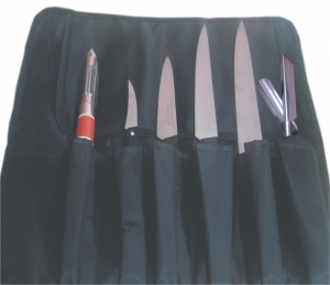 6 SLOTS KNIFE ROLL